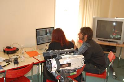 Kamera im Seminarraum